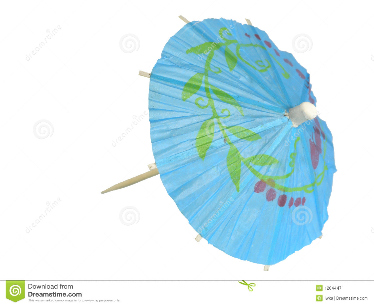 cocktail umbrella royalty free stock photography image