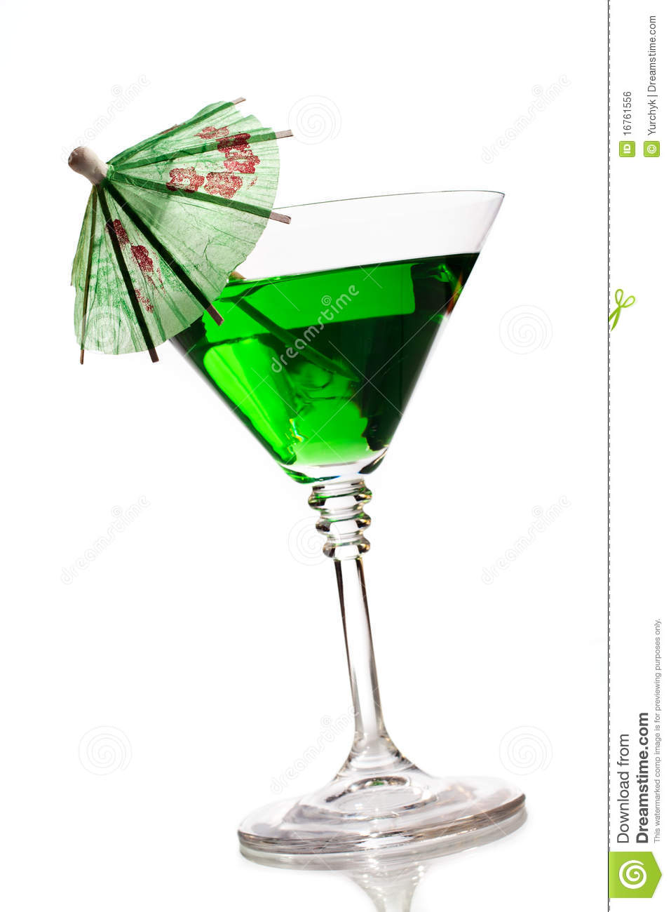 cocktail with umbrella royalty free stock image image