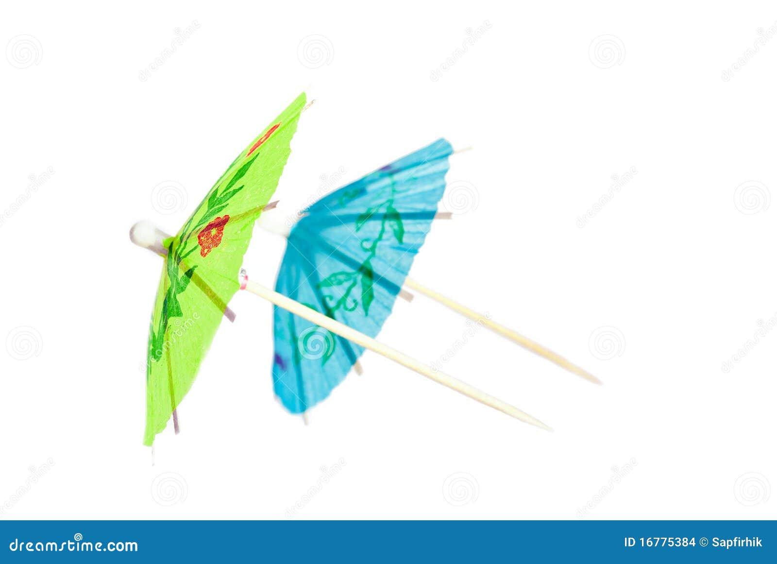 cocktail umbrella stock images image 16775384