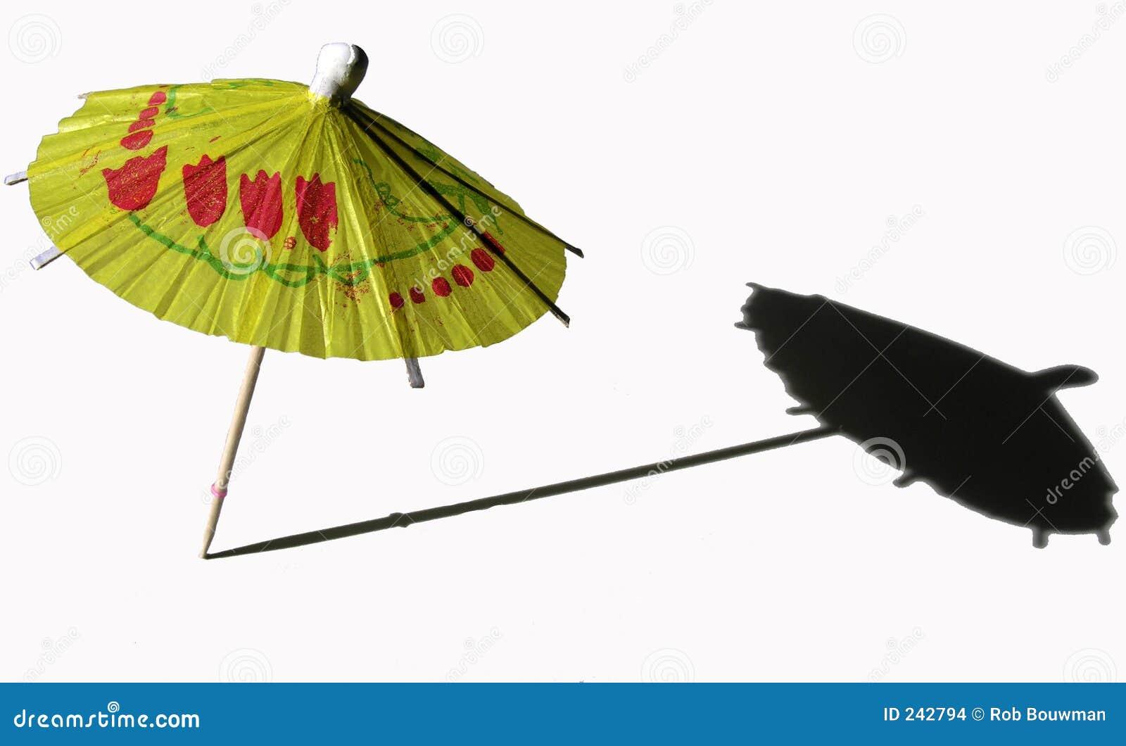 cocktail umbrella stock images image 242794