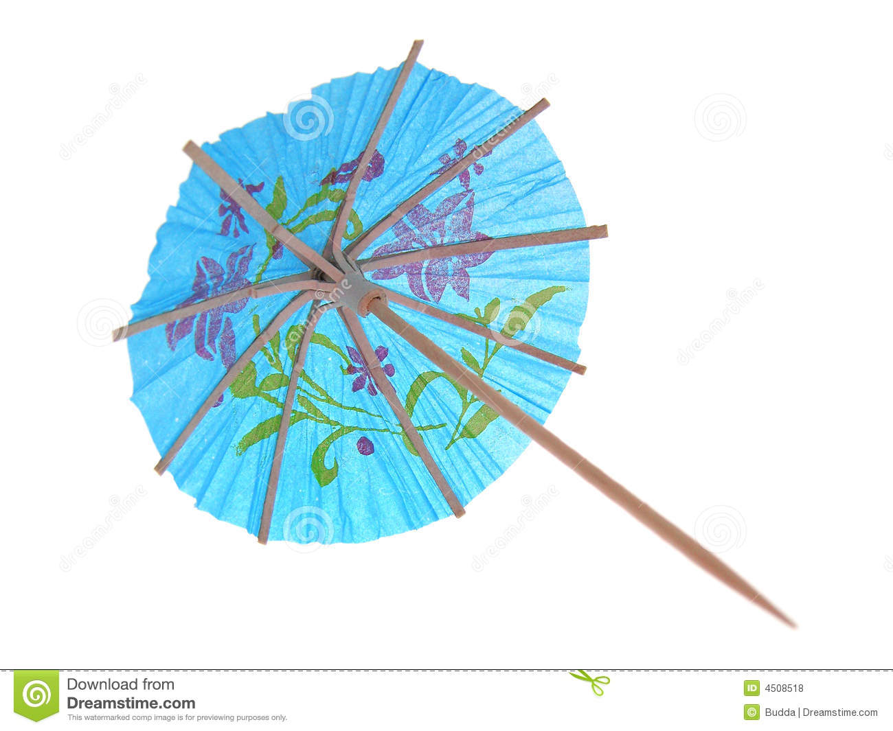 Cocktail Umbrella Royalty Free Stock Photos Image 4508518