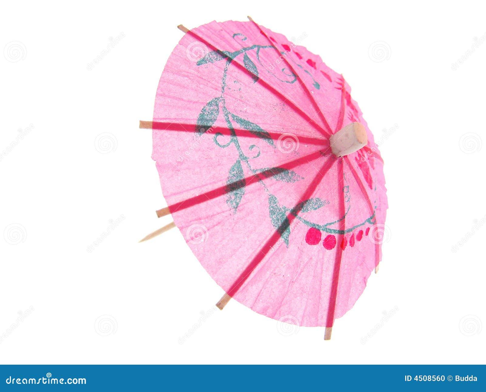 cocktail umbrella stock photo image 4508560