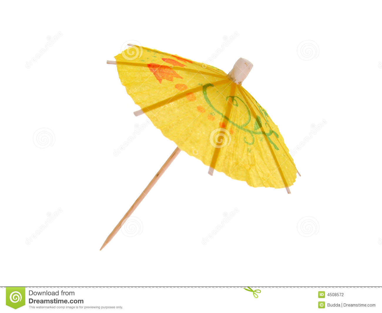 Cocktail Umbrella Stock Photography - Image: 4508572