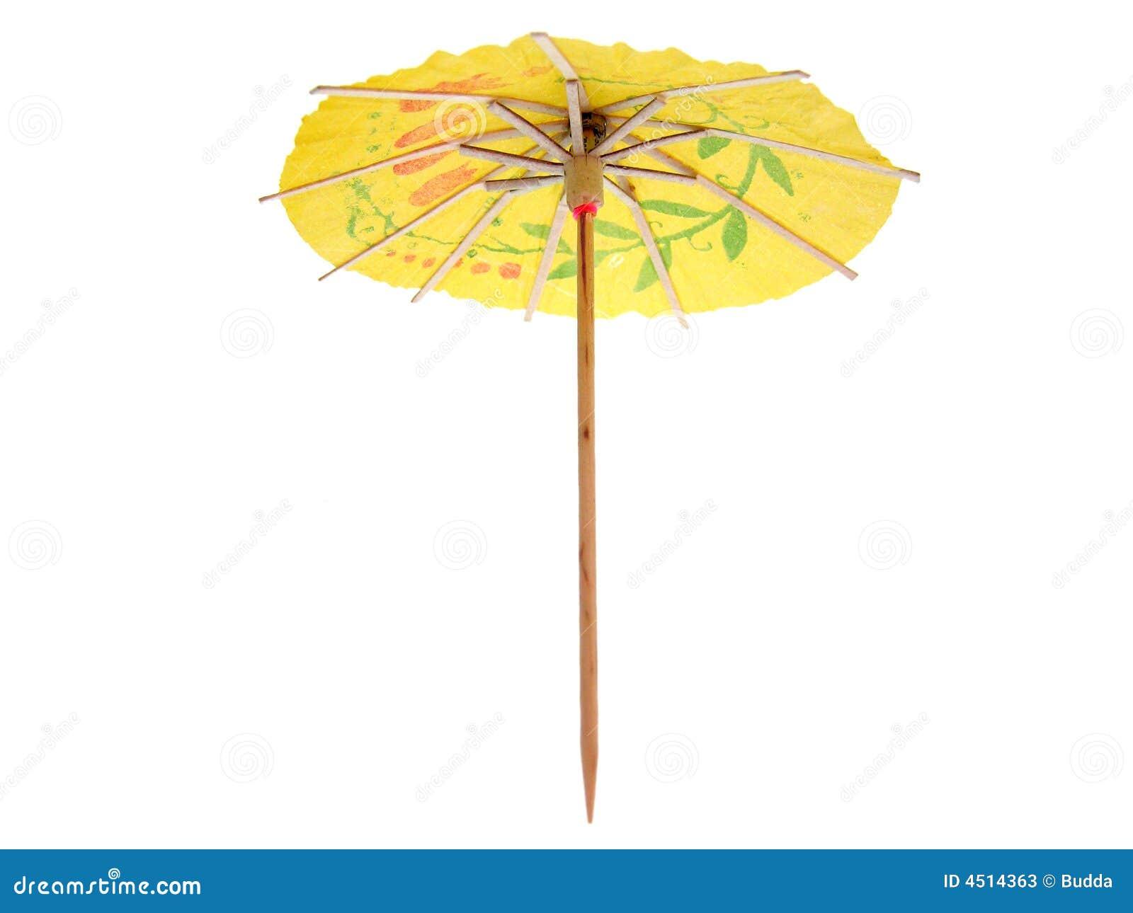 cocktail umbrella stock photos image 4514363