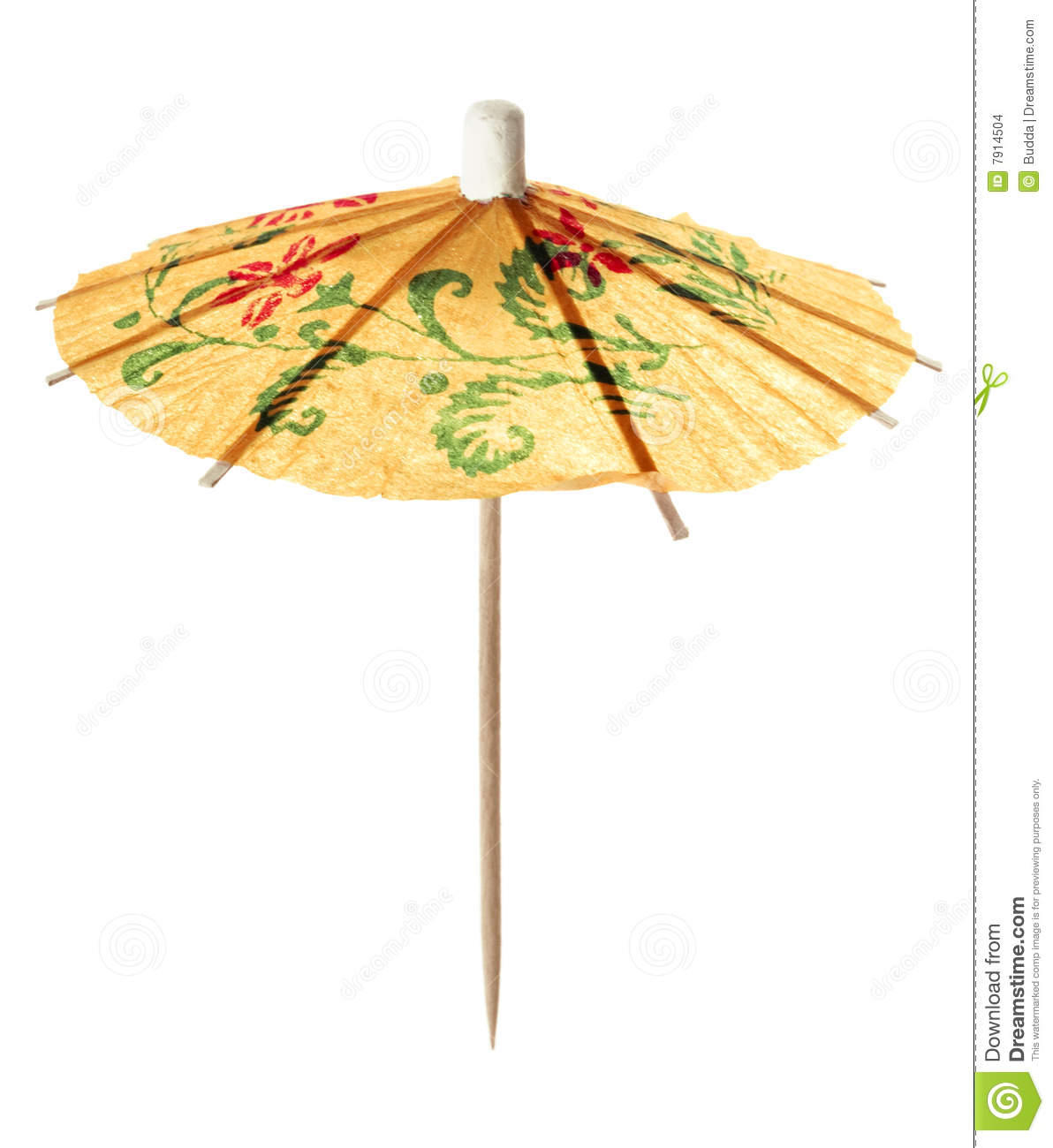 Cocktail Umbrella Stock Images Image 7914504