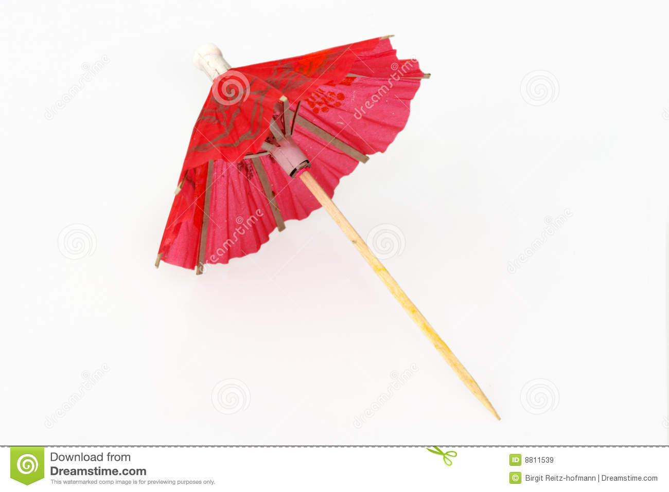 Cocktail Umbrella Stock Image Image Of Chinese Asian