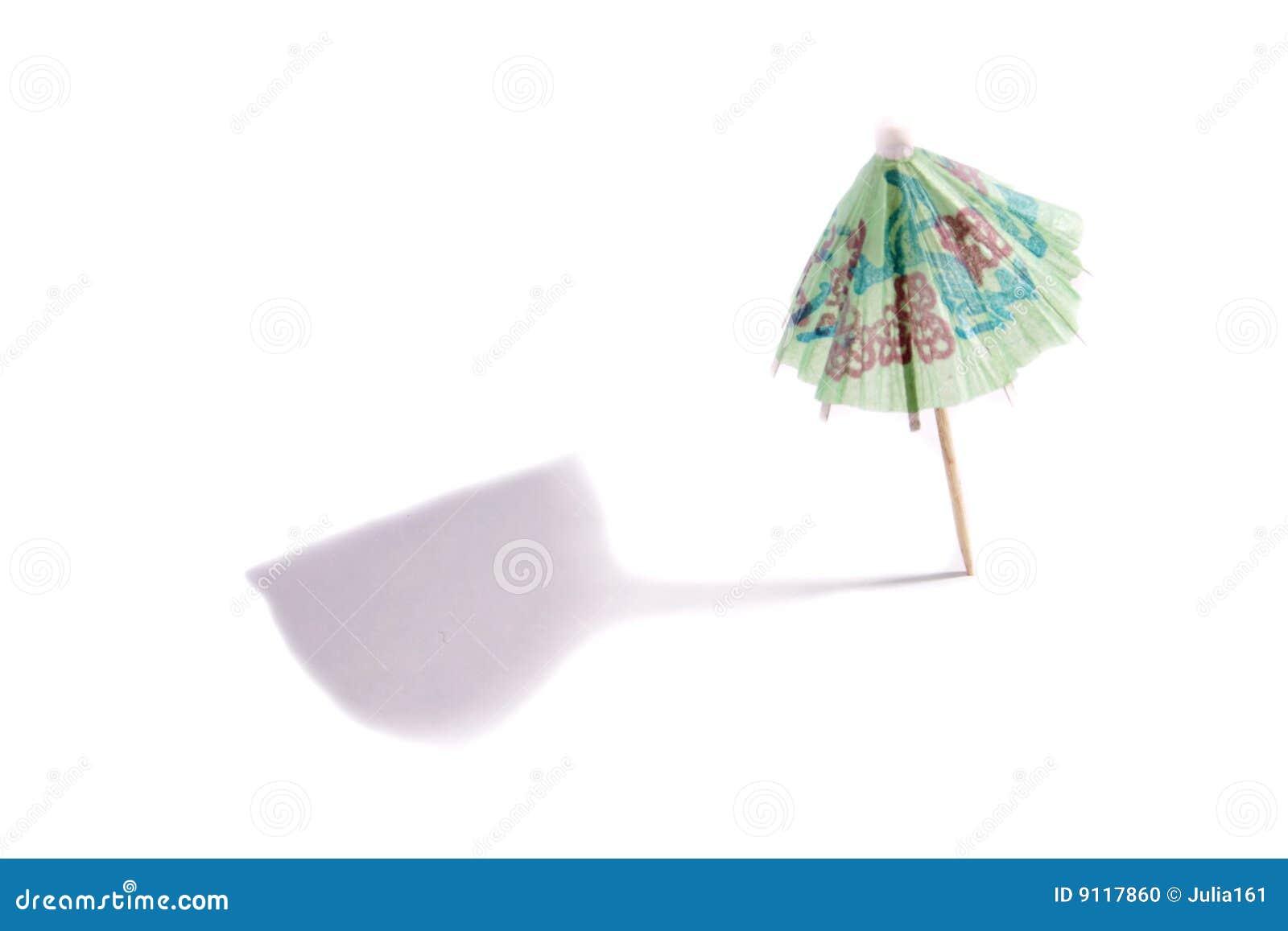 cocktail umbrella stock photo image 9117860