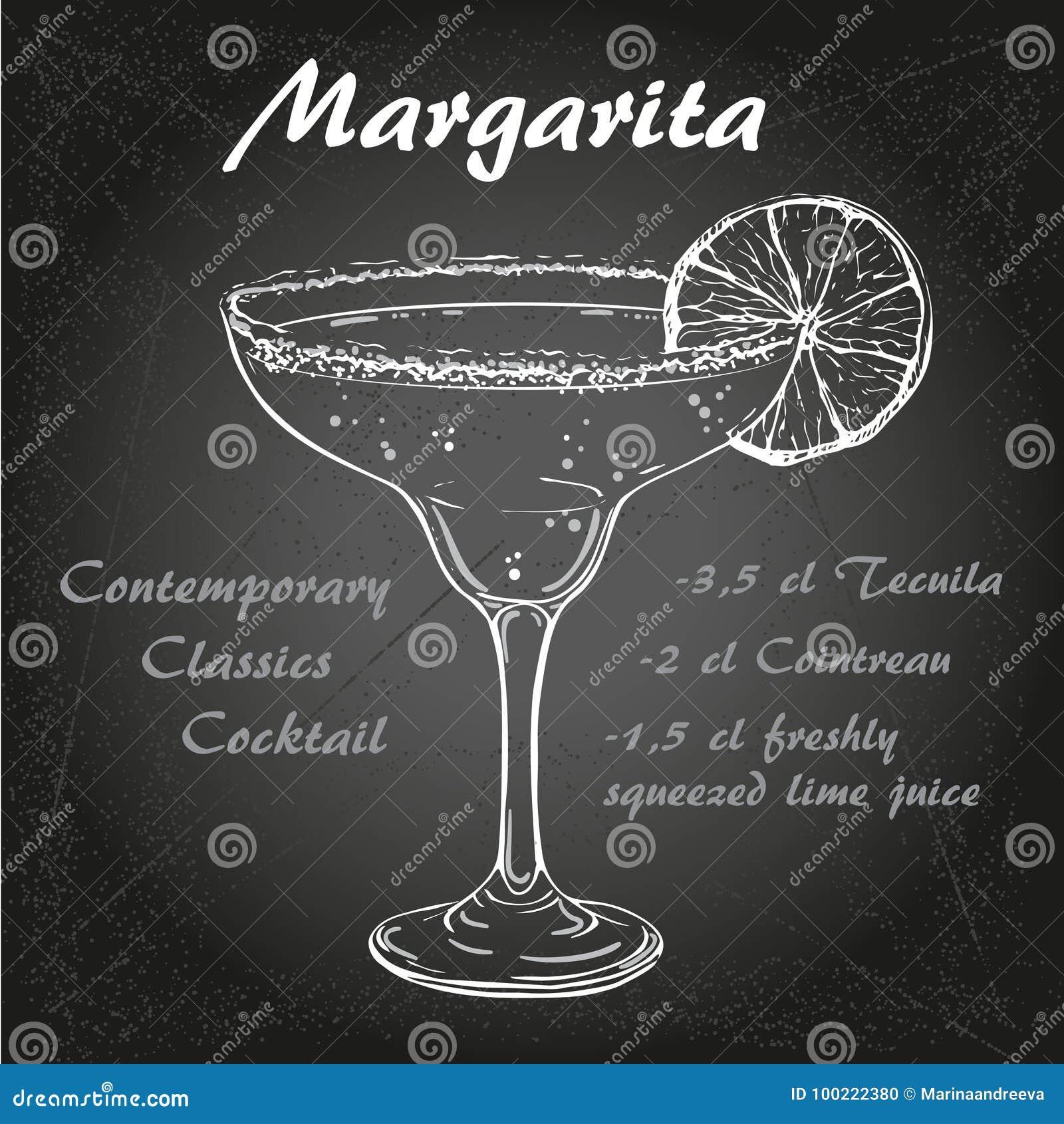 Cocktail vector1 de margarita