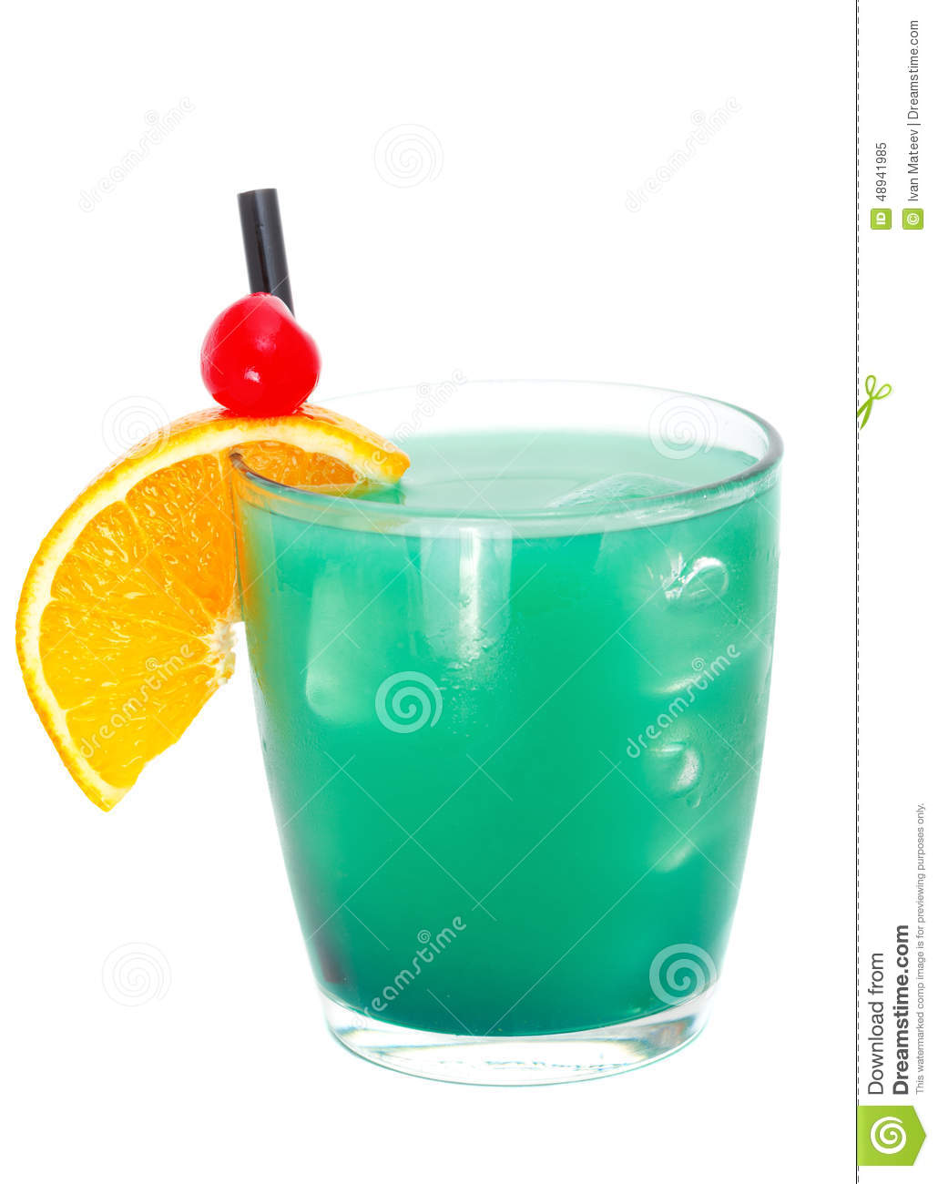 Cocktails collection - Blue Whale