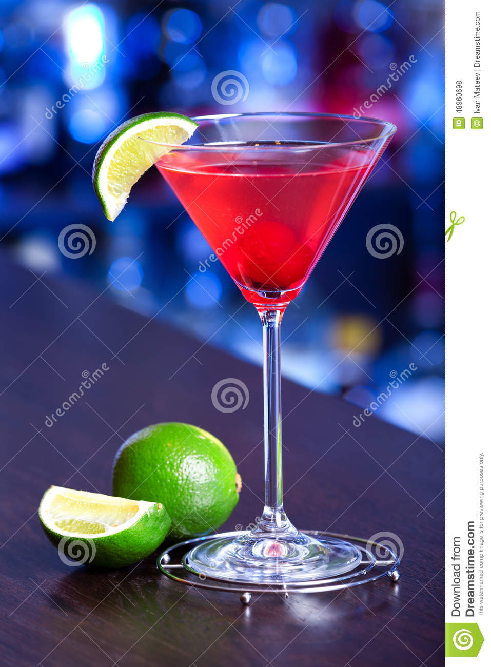 Cocktails collection cosmopolitan stock photo image for Cocktail triple sec