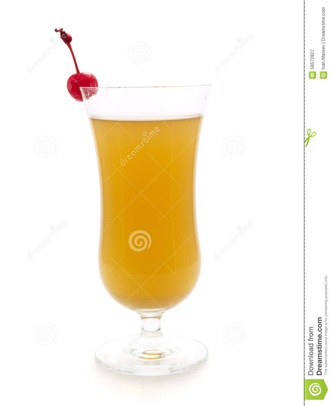 Fruity Rum Punch Stock Image