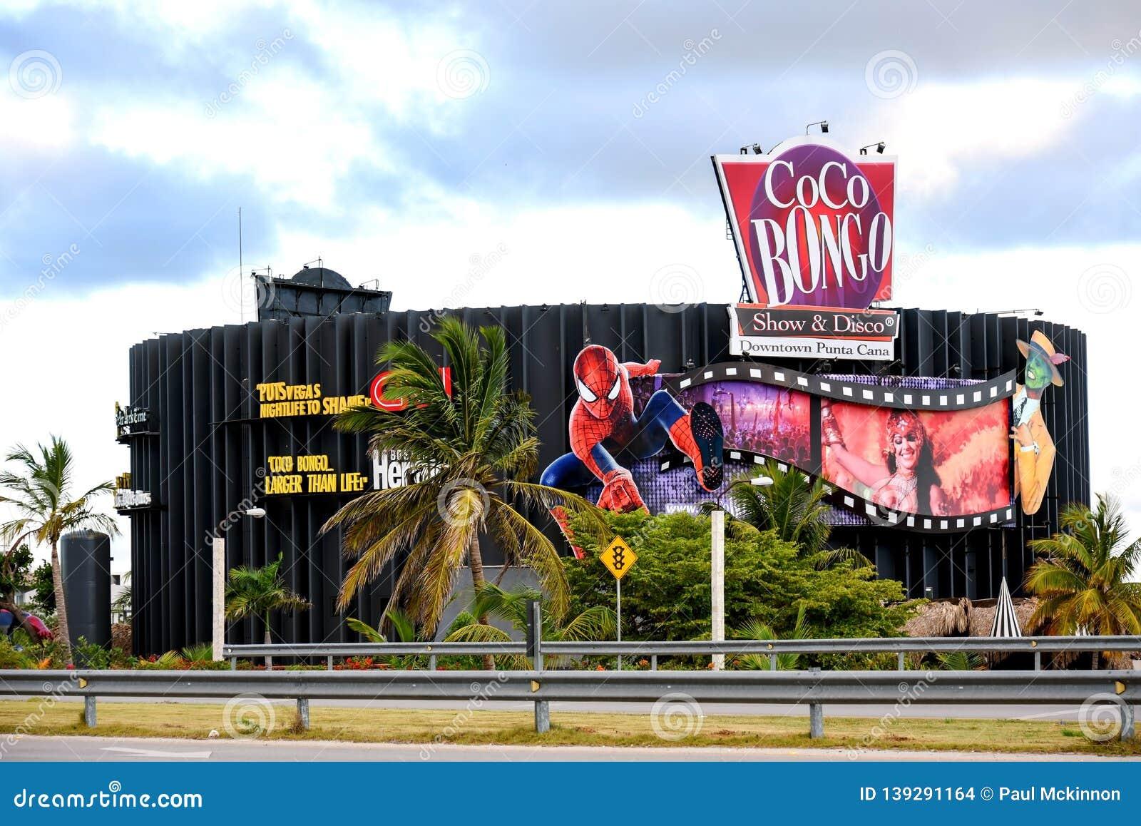 Coco Bongo Club In Punta Cana, Dominican Republic Editorial Stock