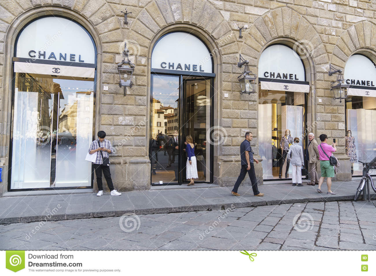 Chanel clothing store