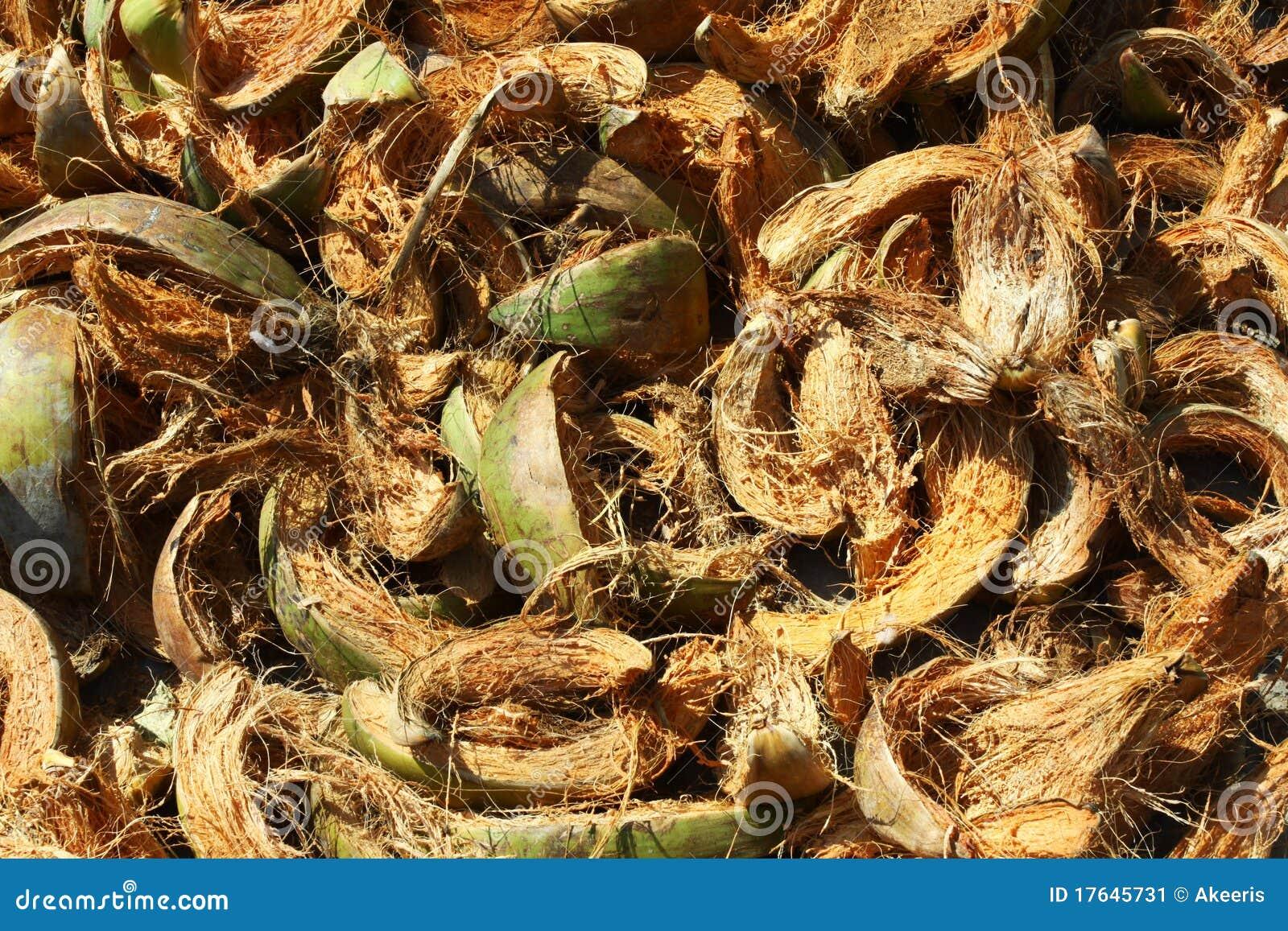 coconut coir fibre stock image image 17645731. Black Bedroom Furniture Sets. Home Design Ideas