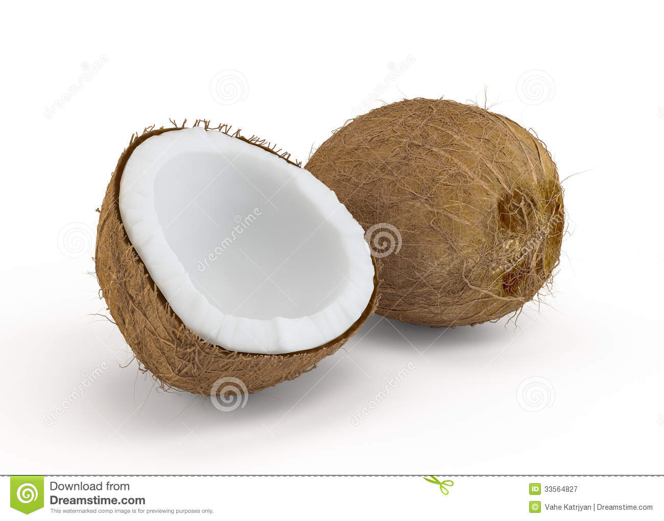 how to cut open drinking coconut