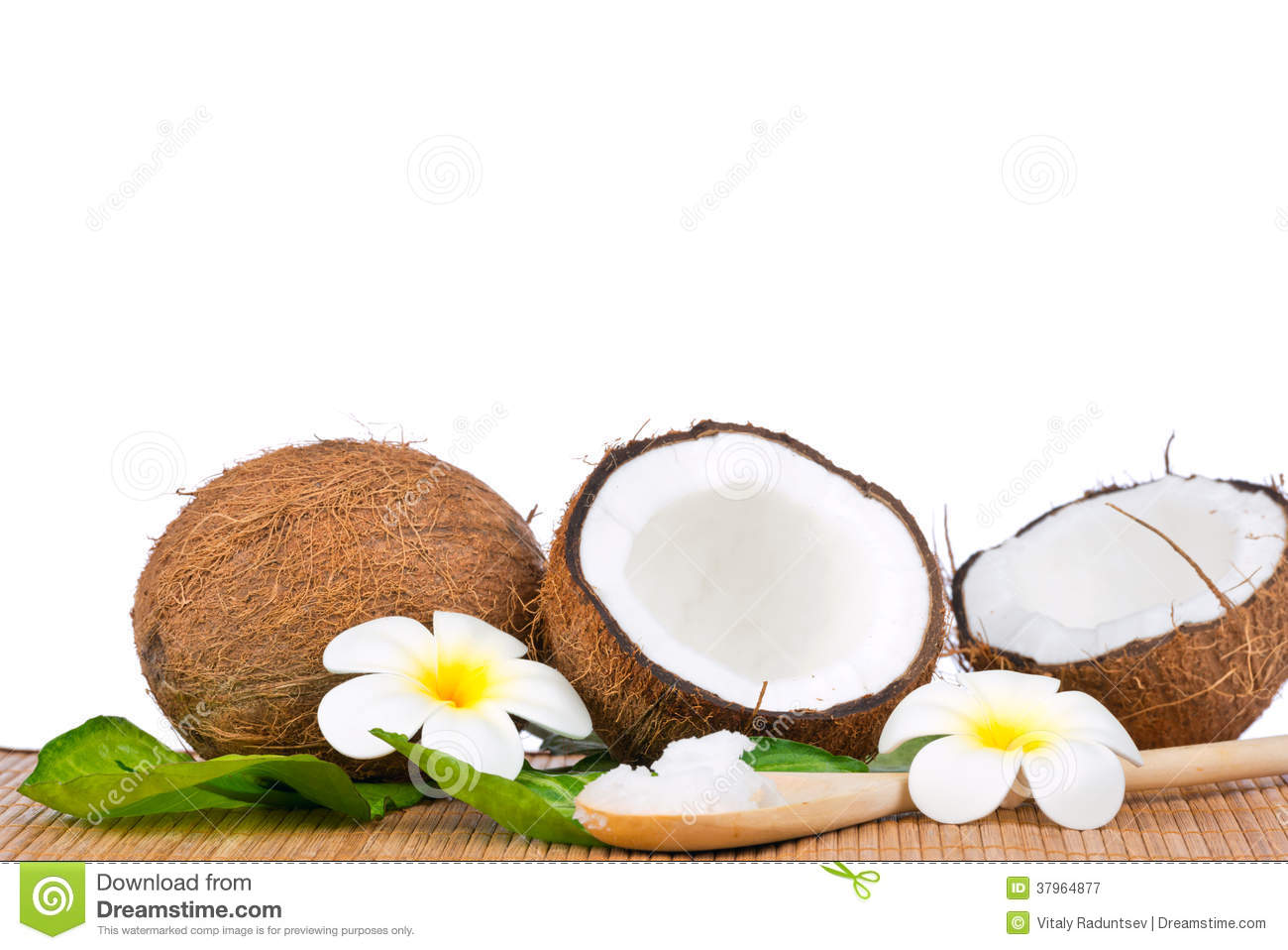 how to cut a green coconut
