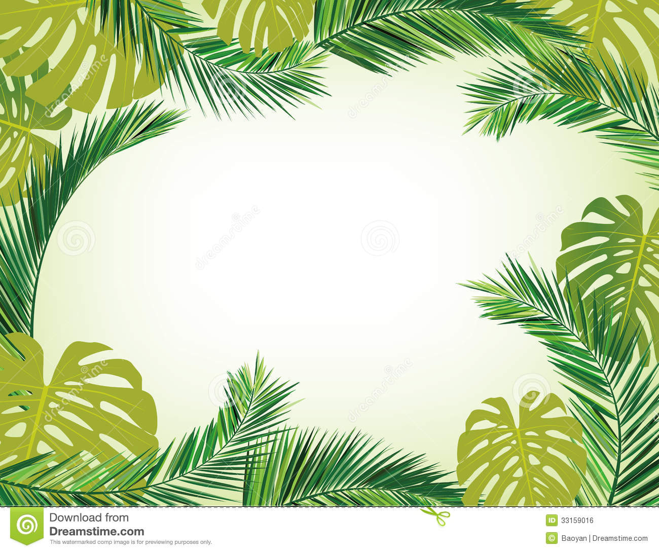Coconut Leaves Royalty Free Stock Image - Image: 33159016