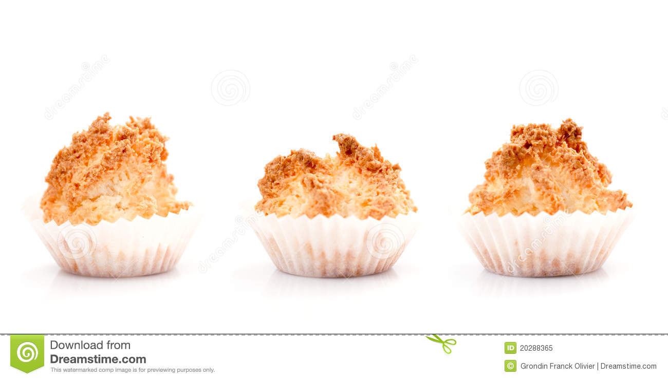 Coconut Macaroons Stock Image Image Of Treat Cups White 20288365