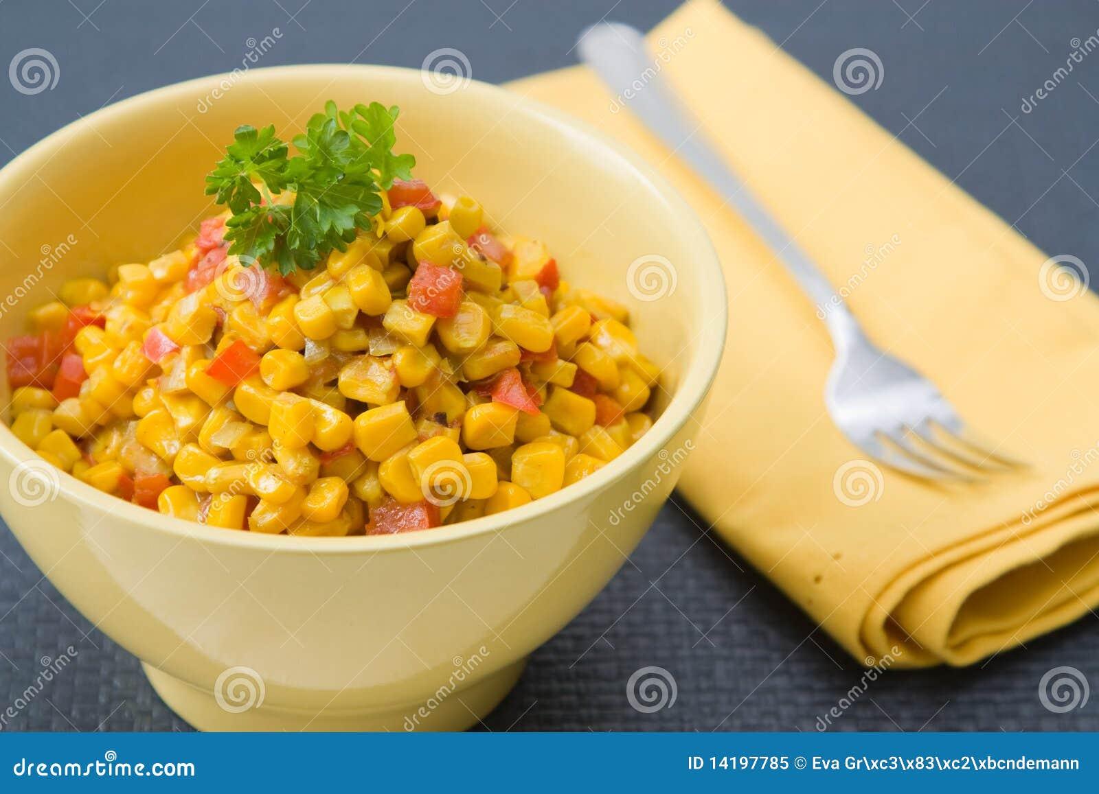 Coconut milk Corn Curry