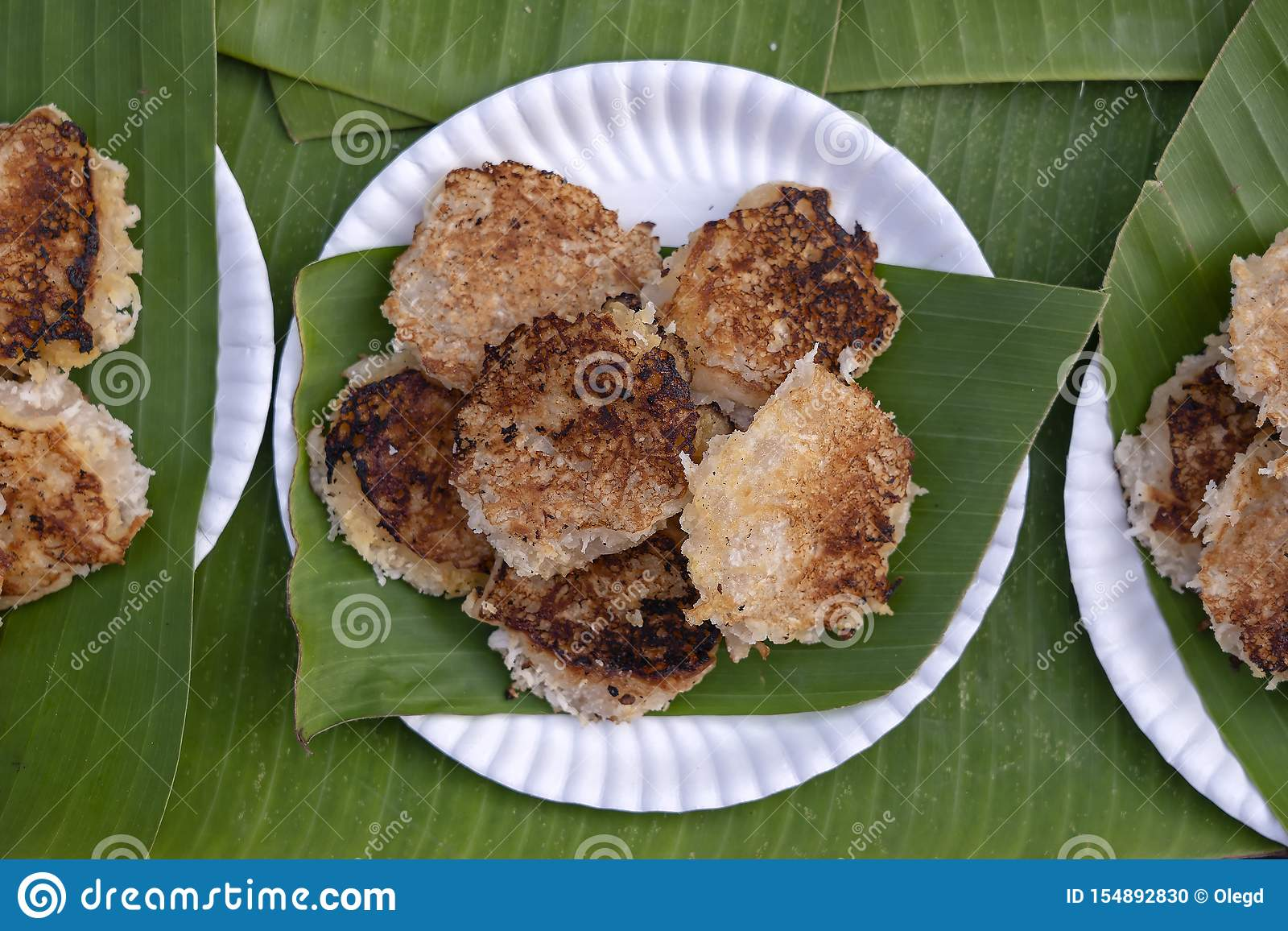 Coconut-rice Pancakes , Coconut Pudding Is Traditional ...