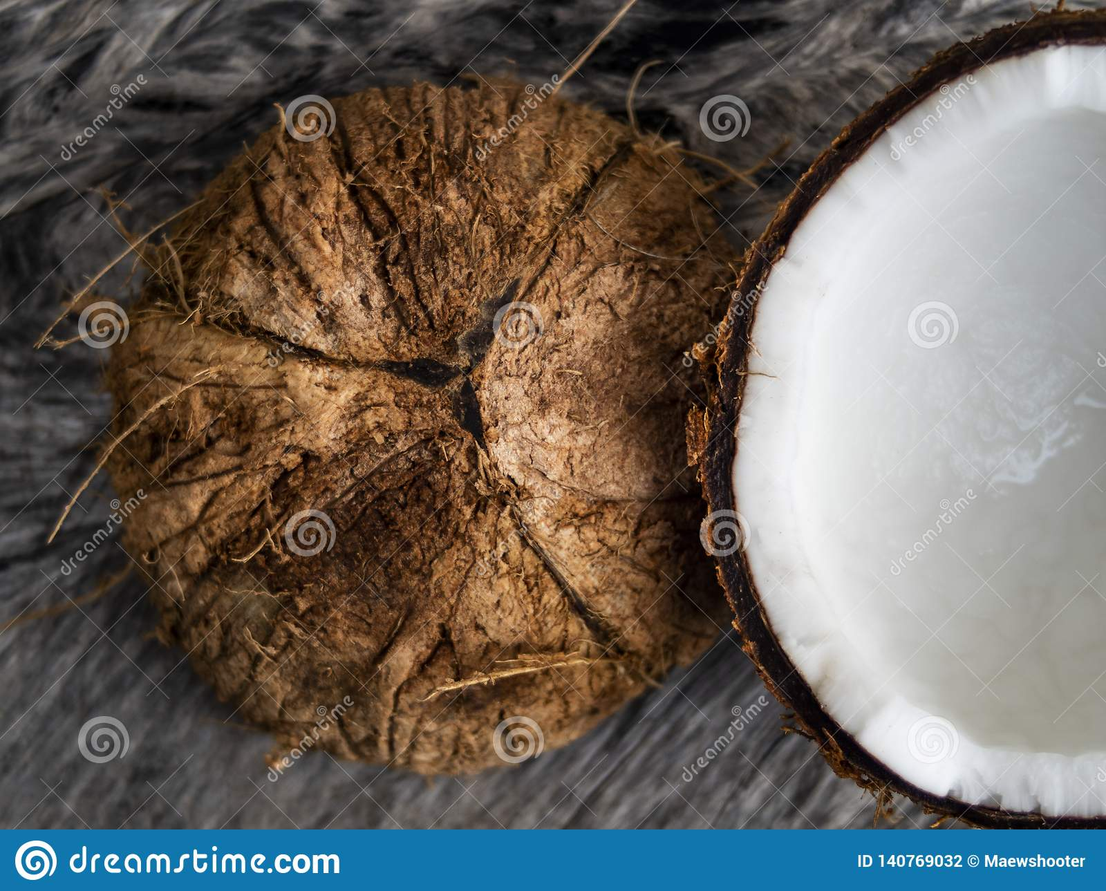 how to crack open a coconut with a knife