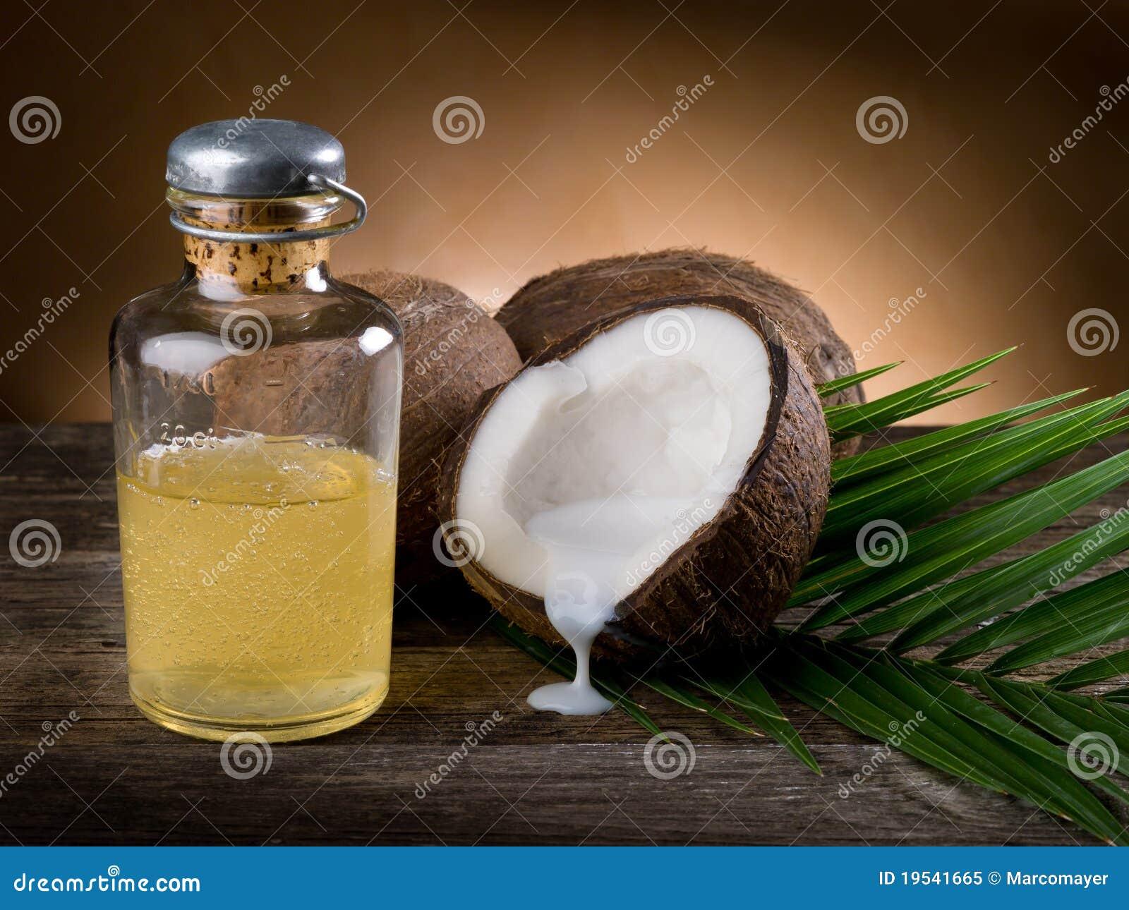 Coconut walnut oil