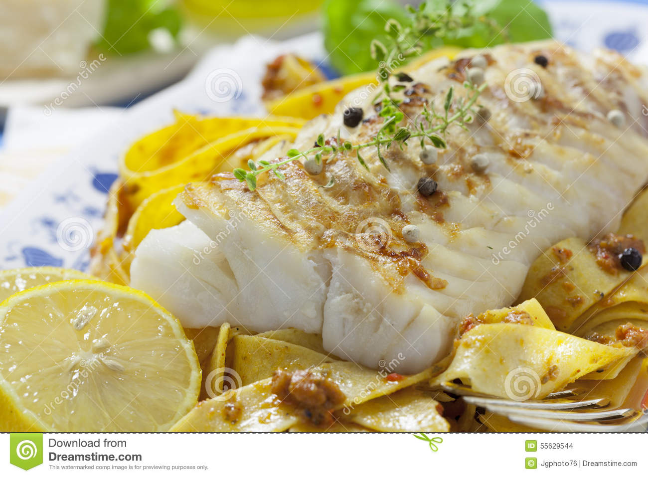cod fillet loin stock photo image 55629544