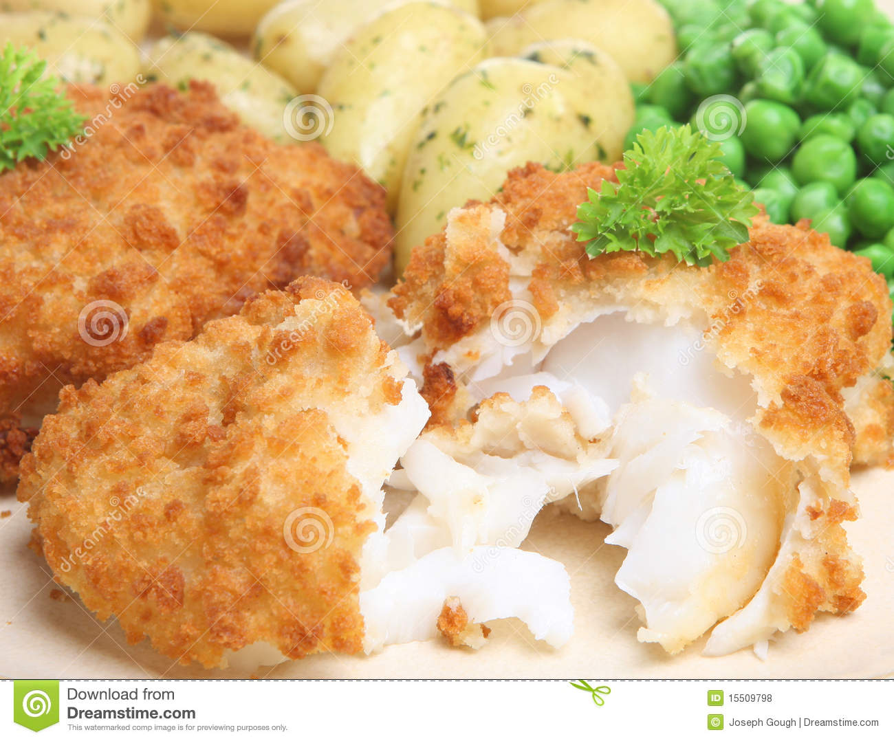 Cod fish fillet meal royalty free stock photos image for Cod fish fillet