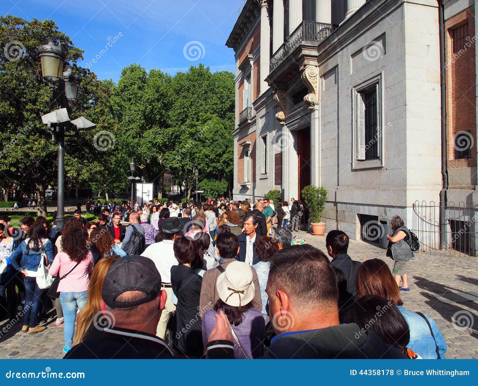Coda a Prado, Madrid