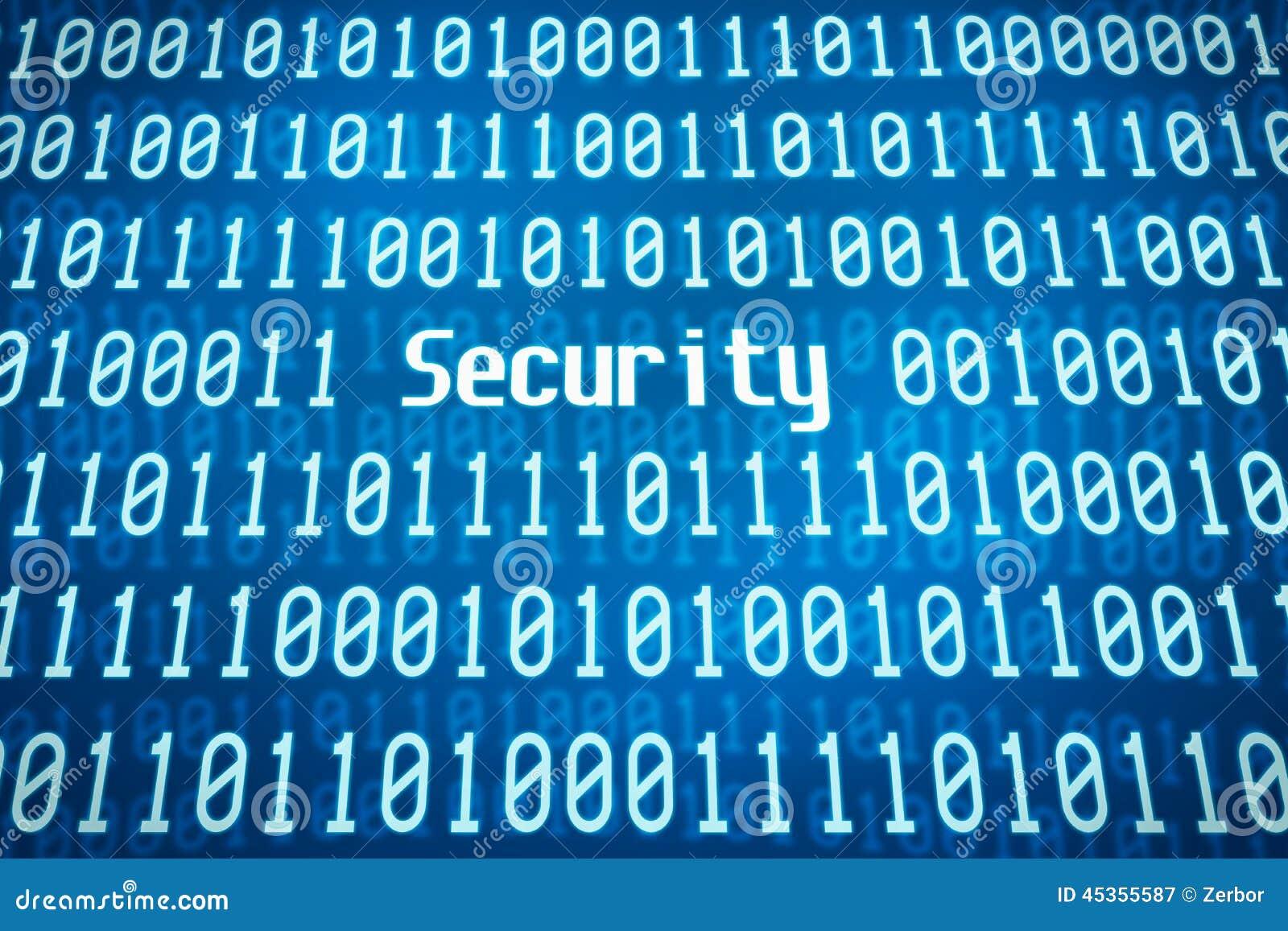 Code binaire avec la sécurité de mot