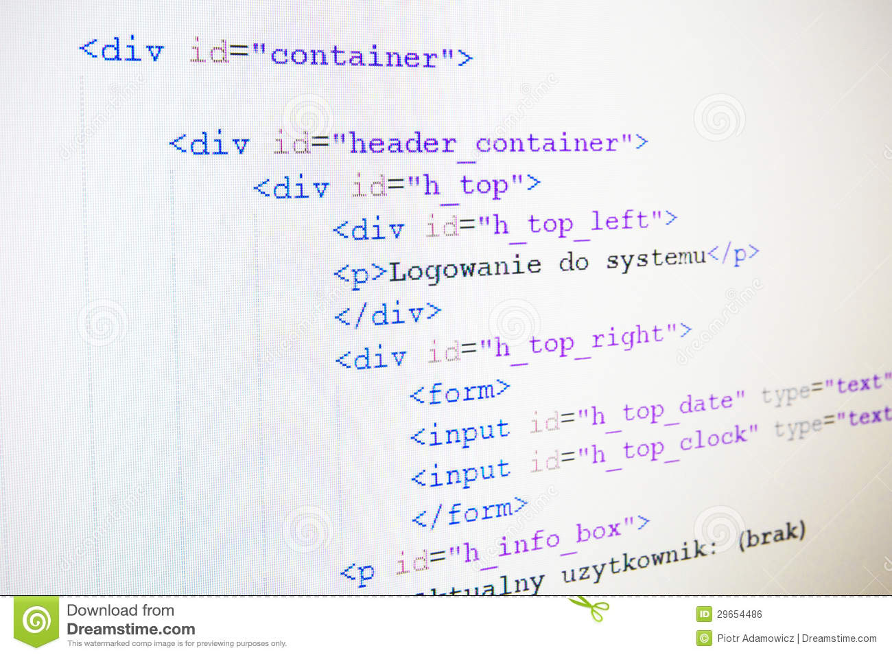 how to change language in html code