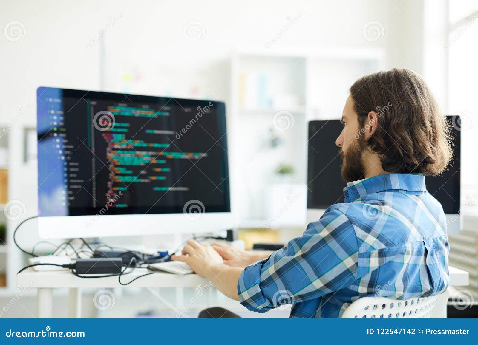 Codeur créant le logiciel