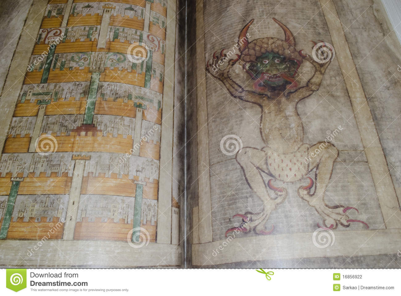 Codex Gigas Also Called Devil S Bible Editorial