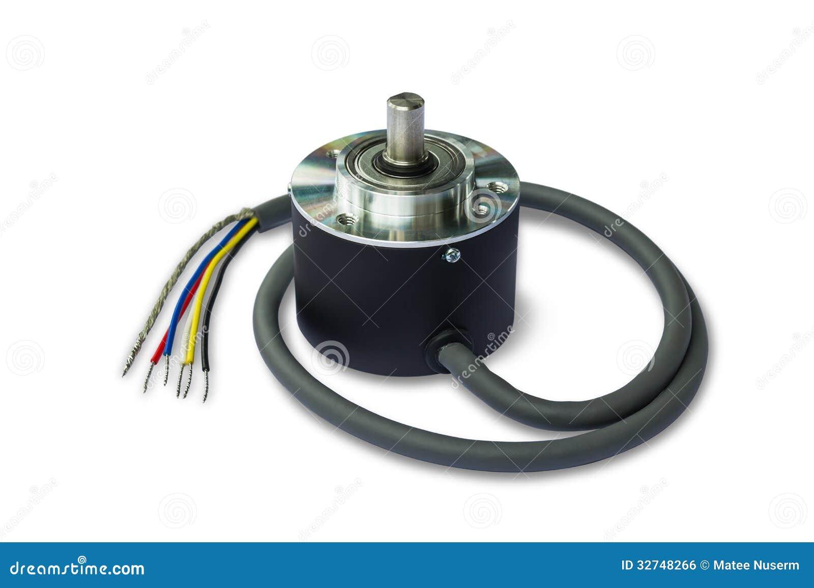 Codificador giratório para o sistema da automatização