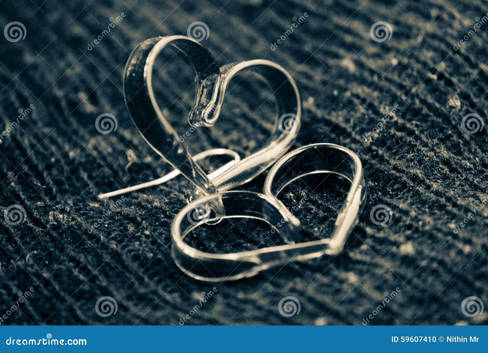Préférence Coeur Brillant Noir Et Blanc D'amour Photo stock - Image: 59607410 UU12