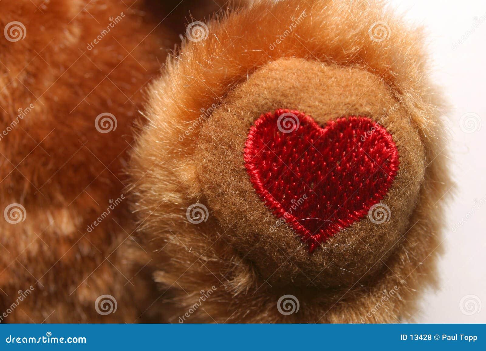 Coeur brodé