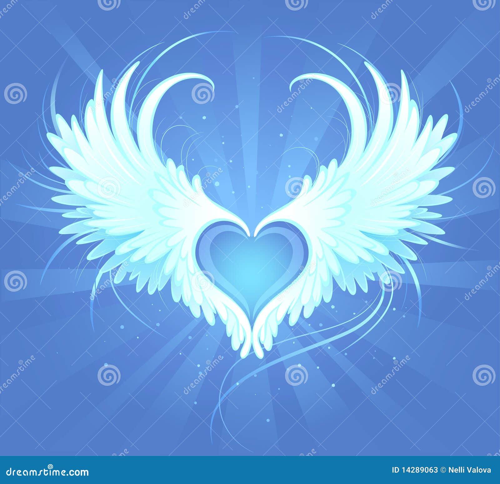realistic angel wings