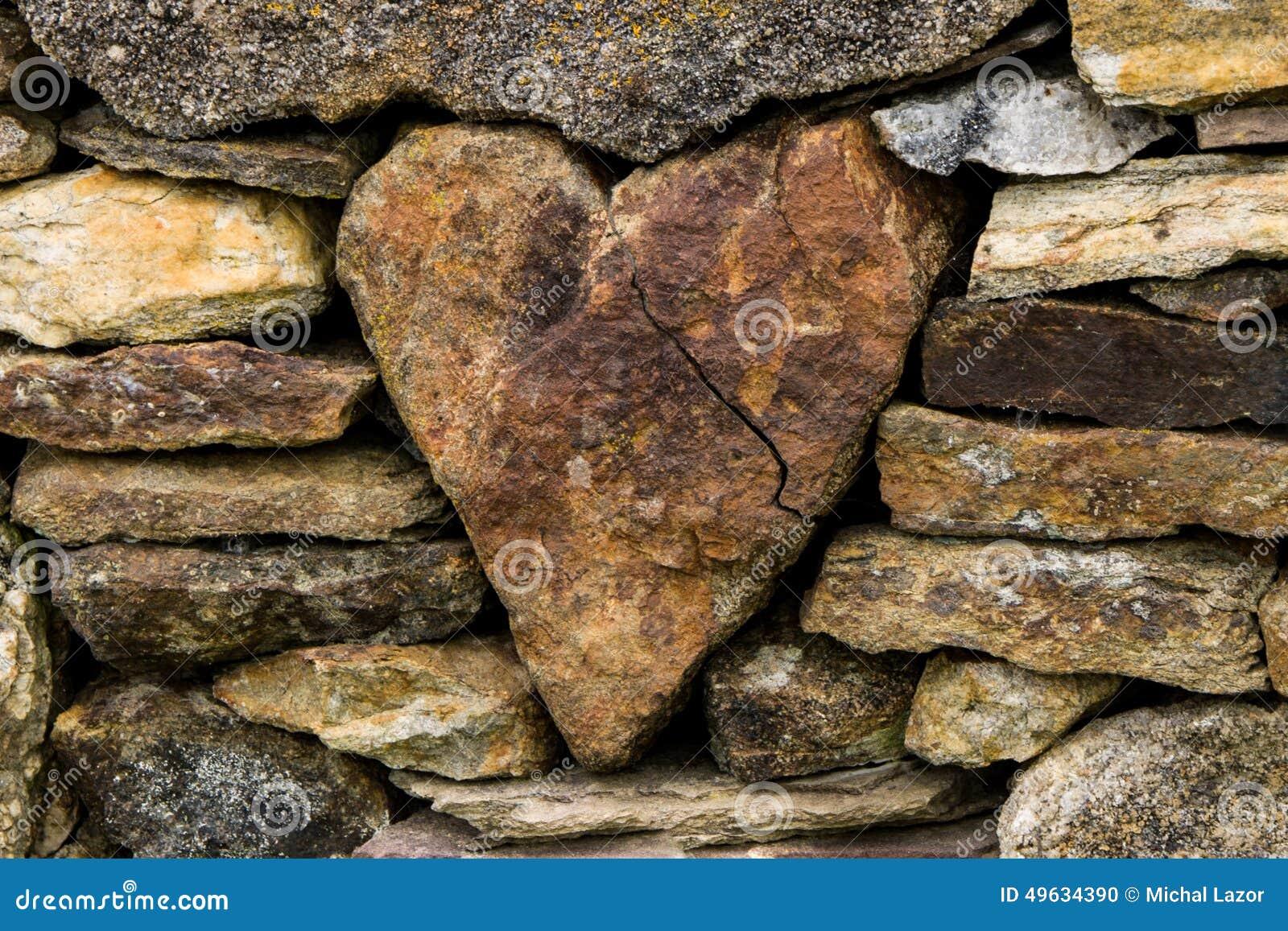 Coeur dans la barrière