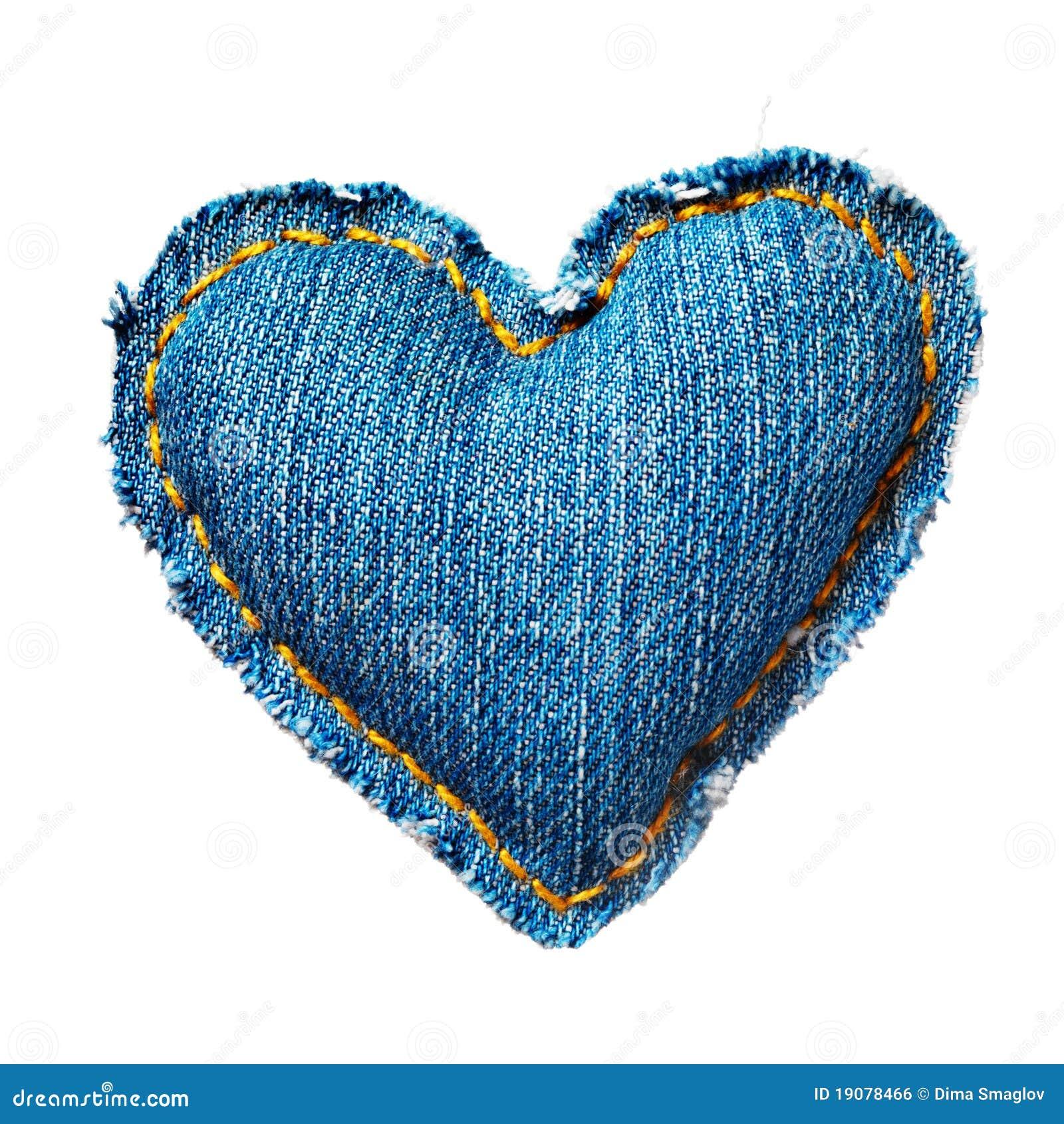 Coeur de jeans de Valentine