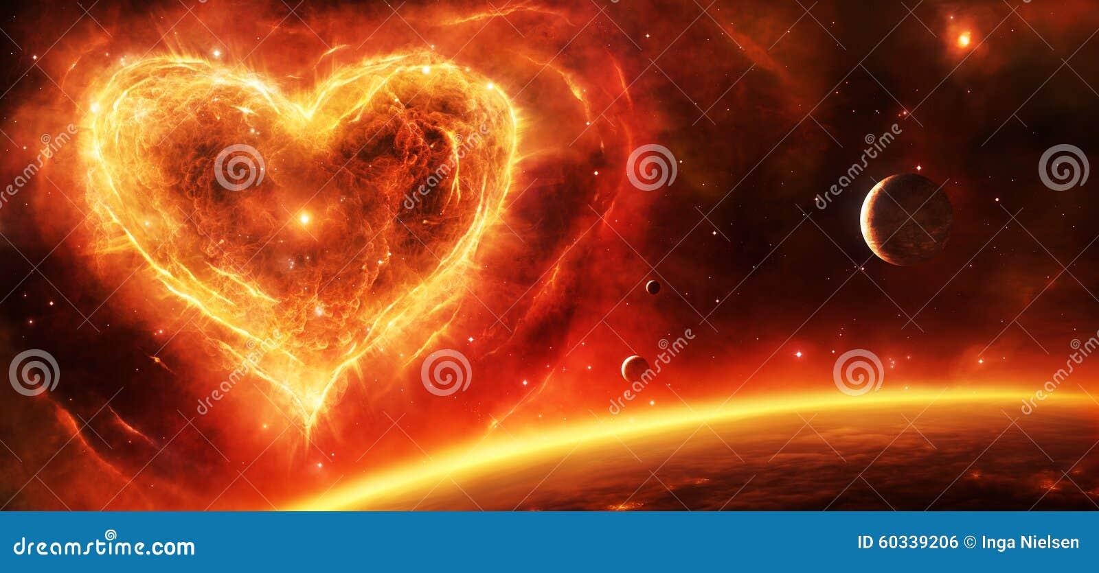 Coeur de nébuleuse de supernova