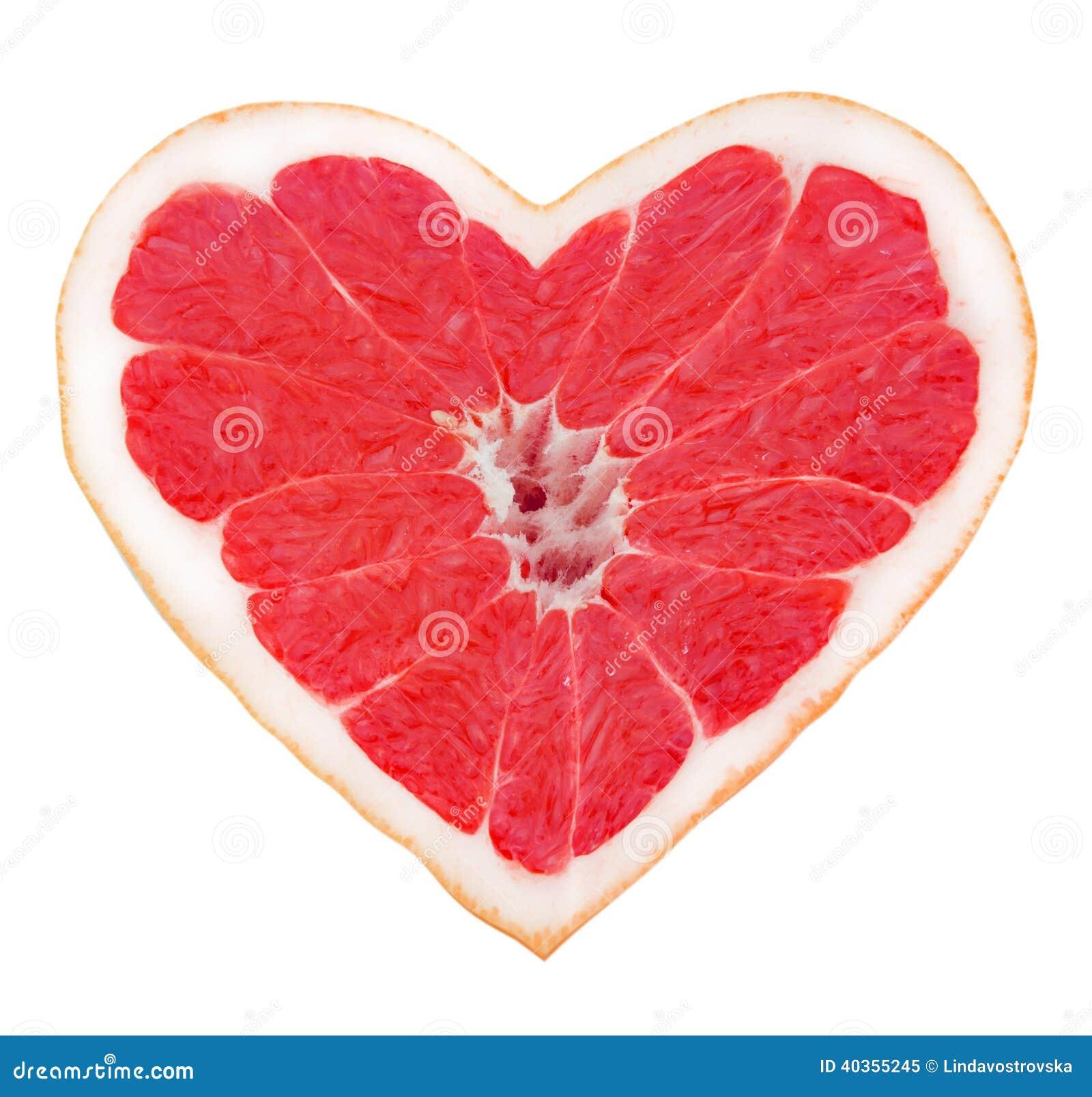 coeur de pamplemousse image stock image du citron amer 40355245. Black Bedroom Furniture Sets. Home Design Ideas