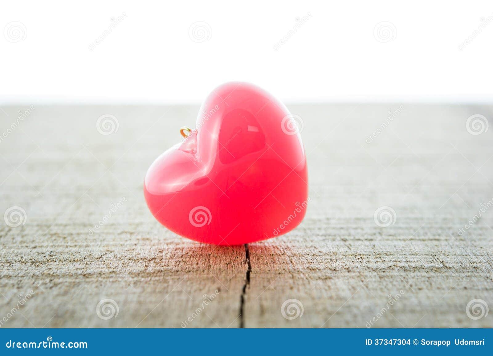 Coeur de rouge de fond de jour de valentines