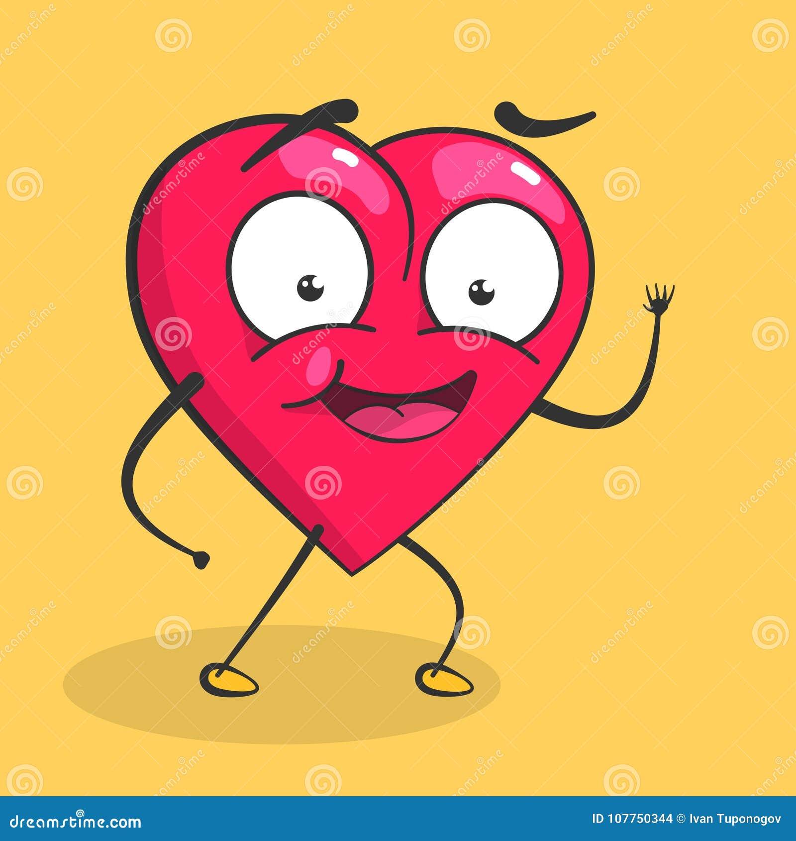 Coeur de vecteur pour le jour de valentines