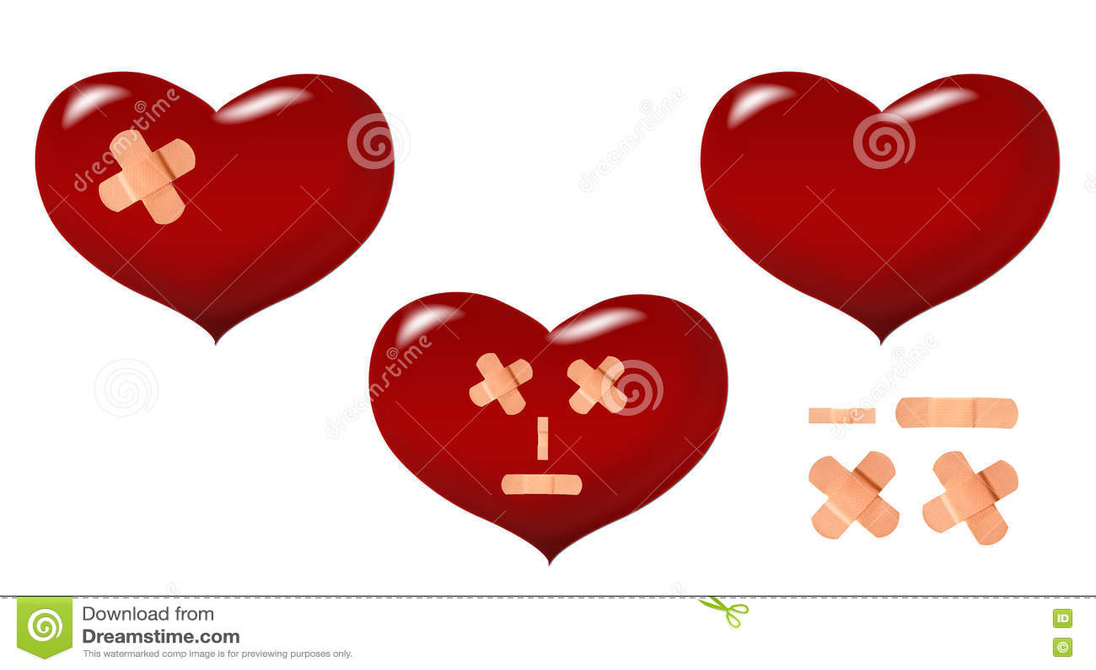 Coeur endommagé