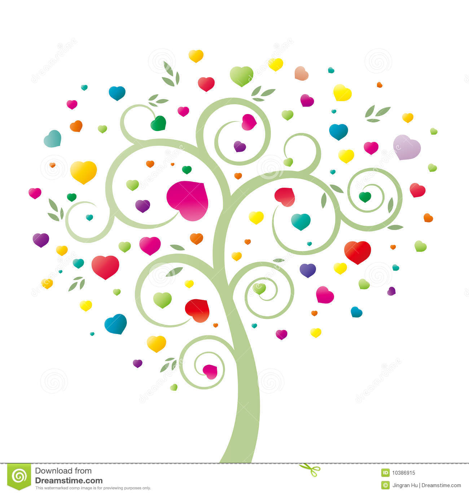 coeur et arbre illustration de vecteur illustration du configurations 10386915. Black Bedroom Furniture Sets. Home Design Ideas