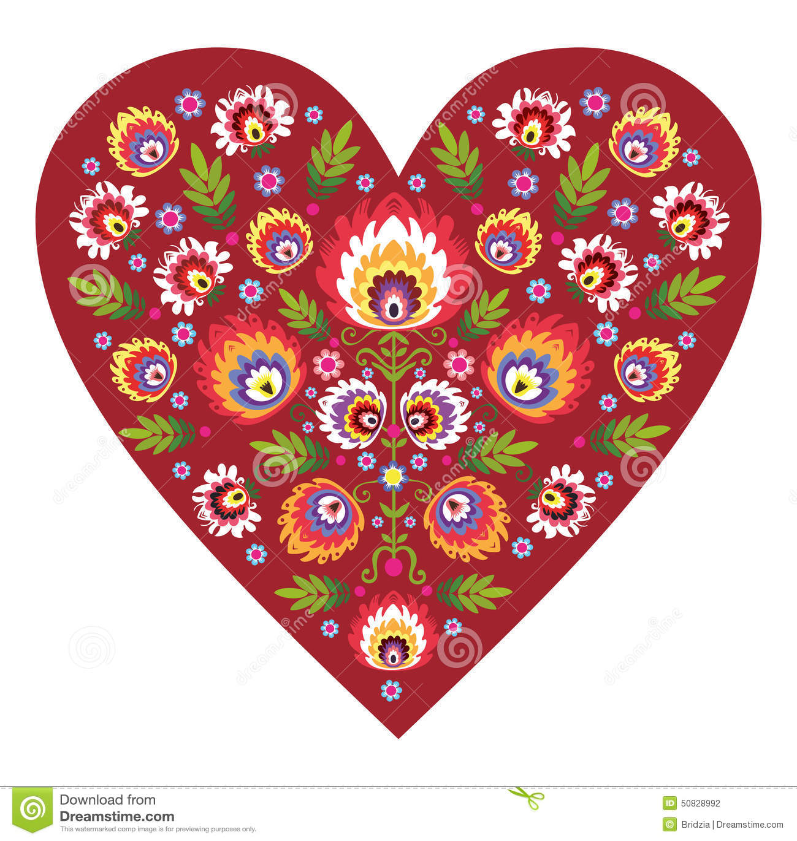 Coeur folklorique polonais