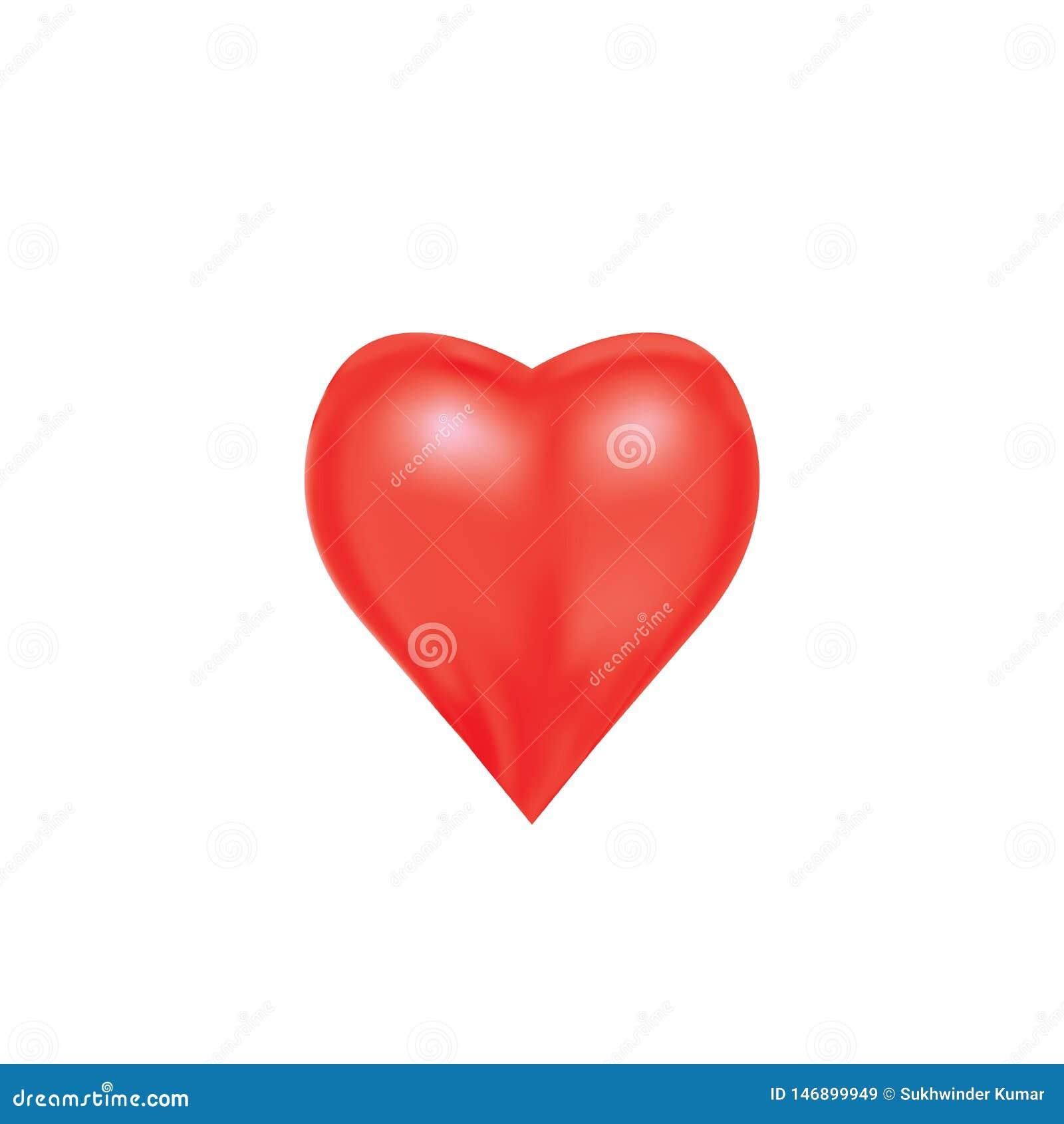 Coeur pour exprimer l émotion de l amour