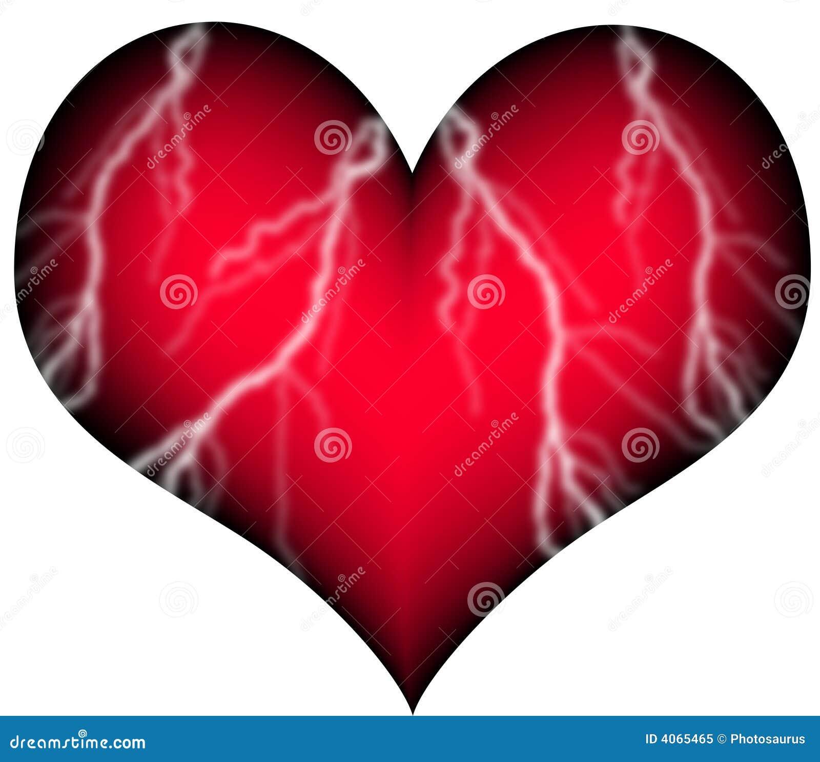 Coeur rouge avec des r cipients photo libre de droits - Coeur avec des photos ...