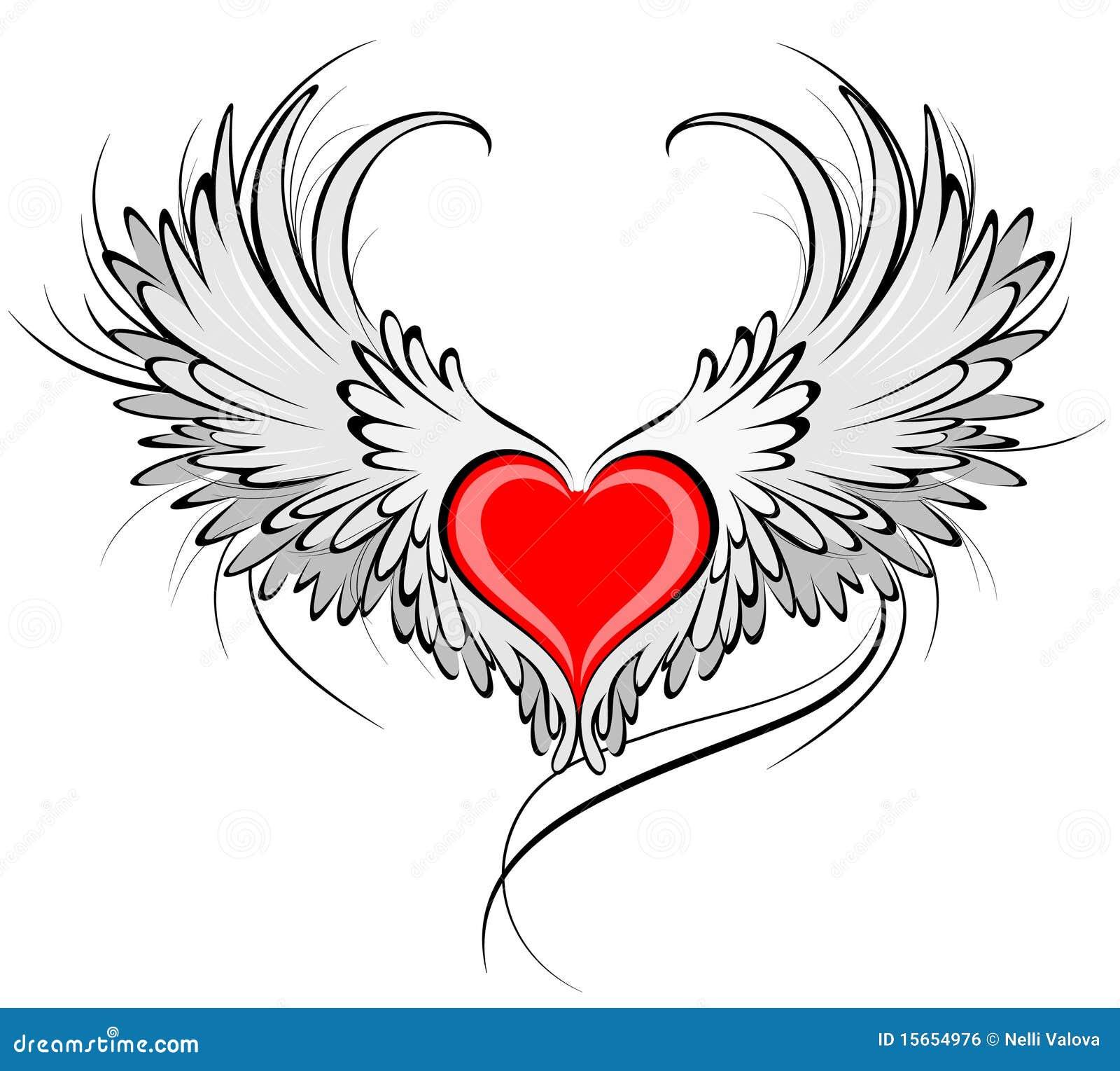 Coeur rouge d un ange