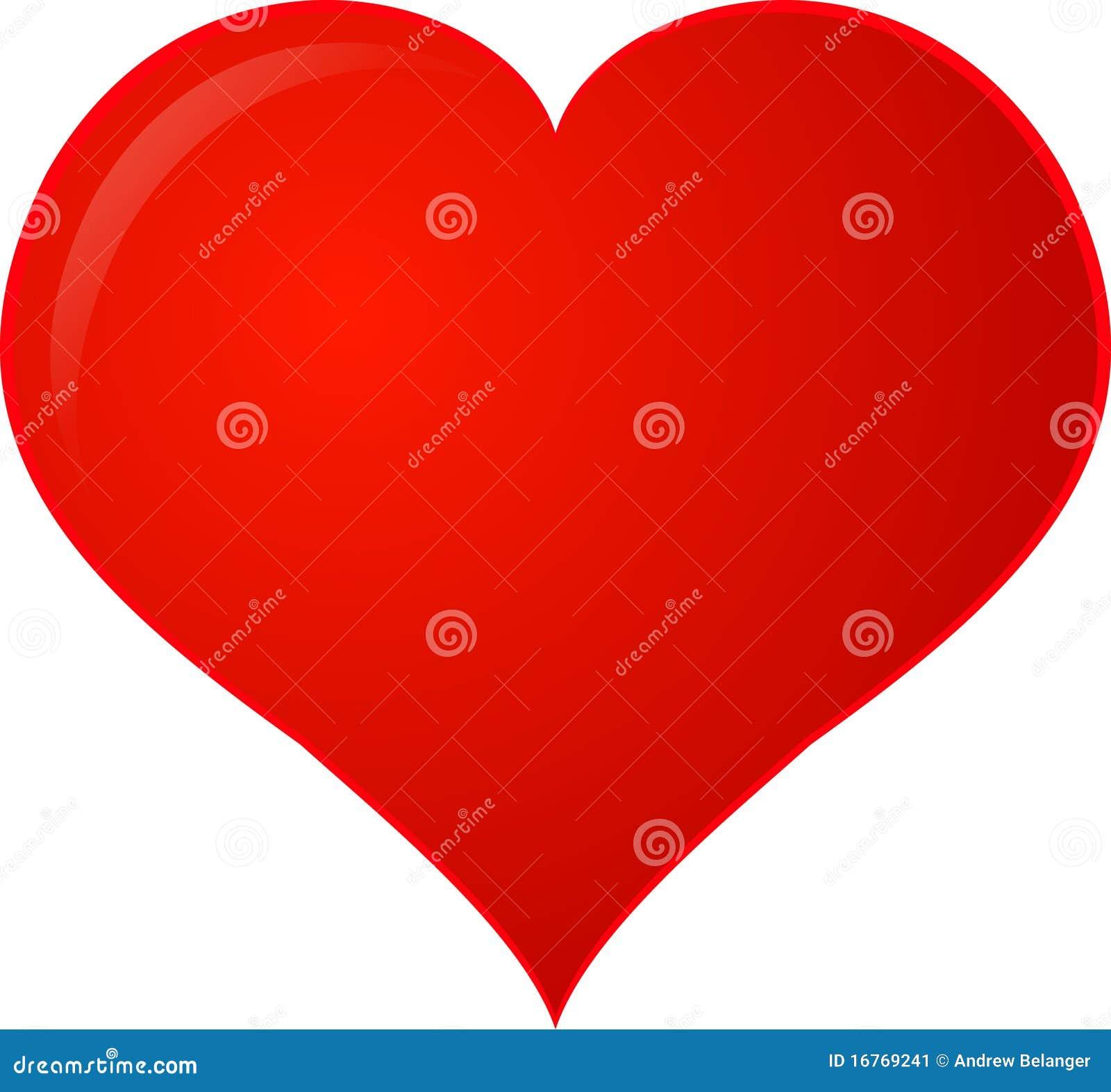 Coeur rouge de Clipart